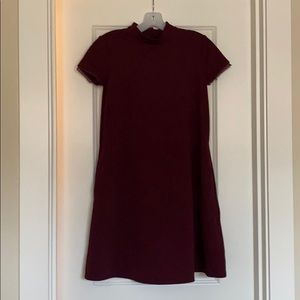 XS simply Vera wang burgundy dress